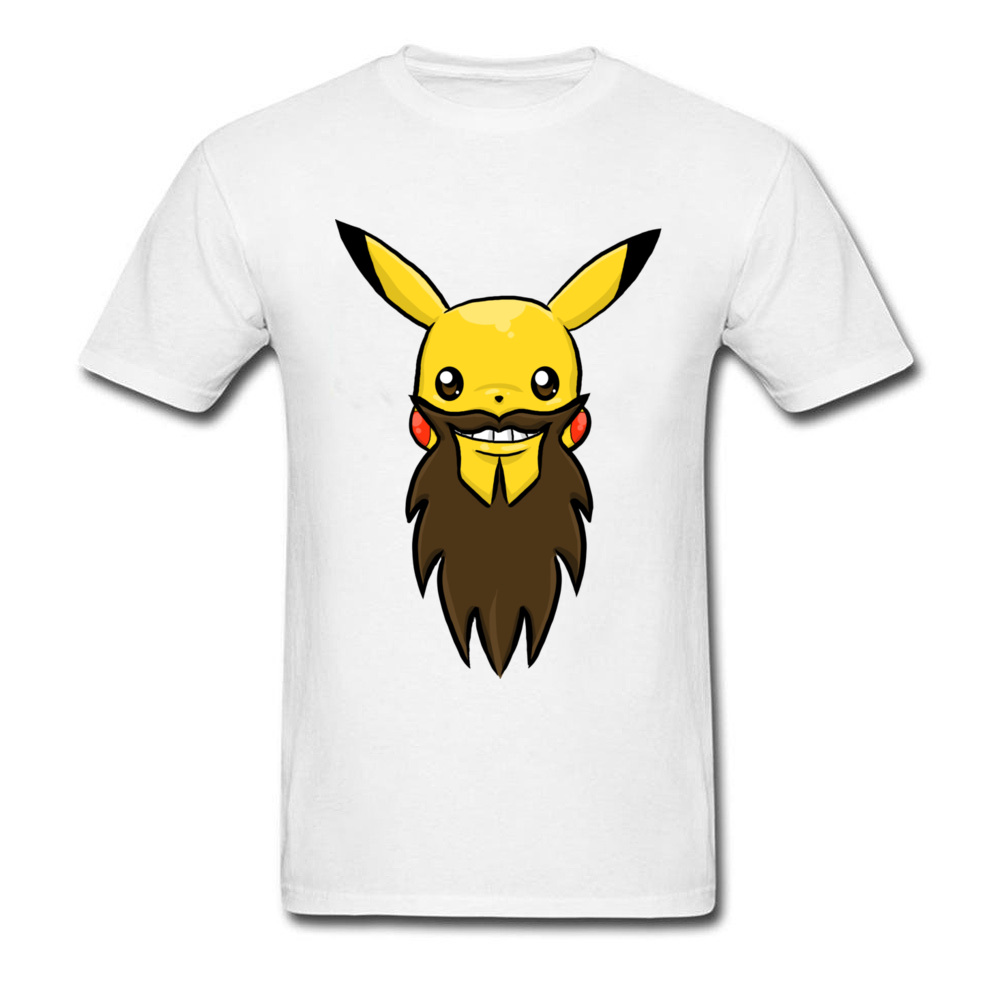 Happy Pika Beard_white