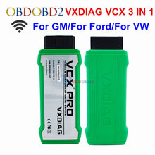 VXDIAG VCX NANO PRO 3 IN 1 OBD2 Diagnostic Tool For Ford/For Mazda/For VW For GM/For Toyota VXDIAG Update Online OBDII Scanner