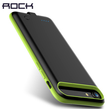 Rock Power Battery Case for iPhone 8 7 7 Plus 2000Mah 2800Mah Portable Power Bank Rechargable Pack Backup External Cover