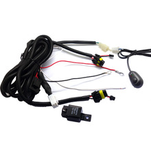 Car Fog Lamp Universal Switch and Wire Kits for Buying Angel Eyes Fog Lights(China)