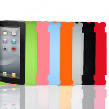New 1 PC Slim Back Case Suits Smart Cover Partner for iPad 2 3 Multi-Color DA0005(China)