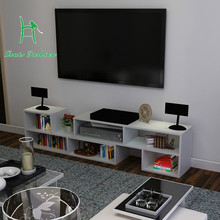 L TV cabinet telescopic simple combination cabinet simple modern LCD TV cabinet