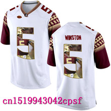 2017 Hot Sale  Florida State WINSTON #5 FRANCOIS#12 Basketball Jerseys High Quality