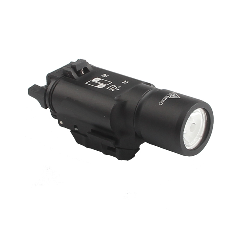 Tactical X300 LED Weapon light Flashlight Torch For Hunting Free Shipping HT8-0002-02 nologo