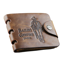 Bailini Leather Card Holder Mini Male Slim Small Luxury Men Wallet Man Purse Designer Famous Brand Walet Carteras Portfel Money