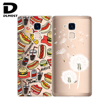 Soft Case For Huawei Honor 7 Lite Transparent Silicone Colored Drawing Phone Cases Cover For Huawei Honor 7Lite Hot Selling
