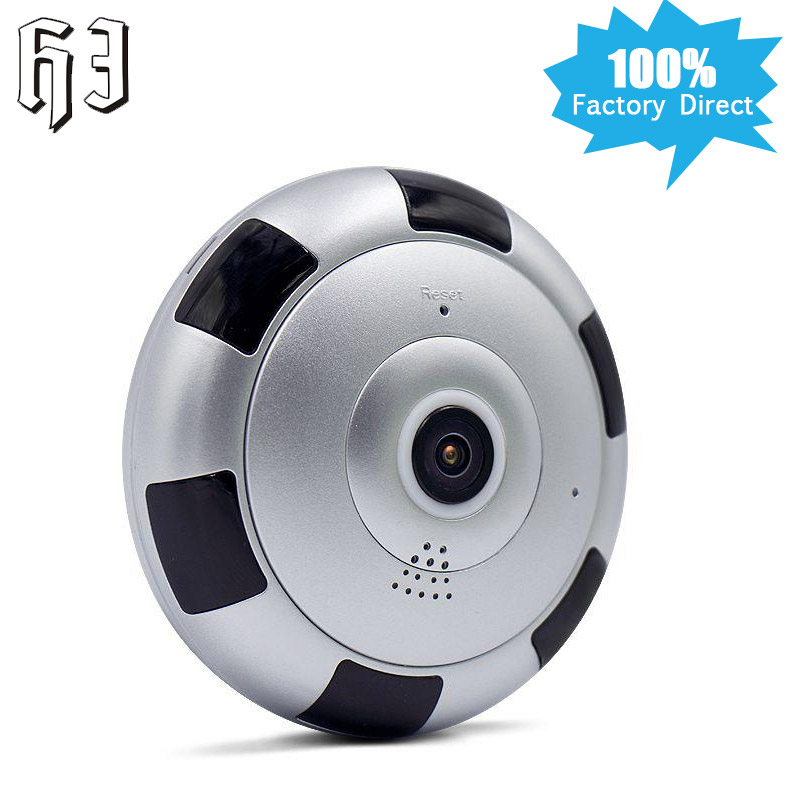 2MP 1080P HD Wireless IP Camera CCTV WI-FI 360 degree VR Home Security Smart System Panoramic View Surveillanc Wifi mini Camera <br>