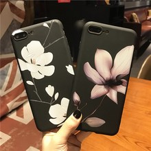 AiYvZ Brand Cute Flower Patterned TPU back Case for Apple iPhone 6 7 s 6s Plus Phone Cases 4.7 5.5 inch Cover Russia UA PL BY(China)