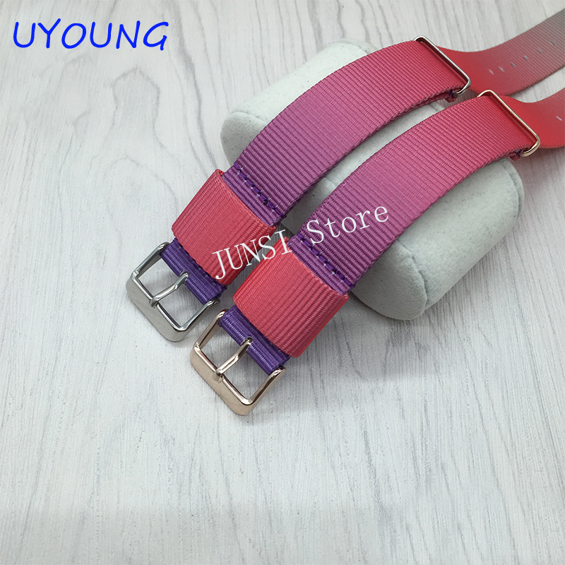UYOUNG Watchband 18mm20mm Quality Nato Nylon Long Strap Multi Color Watch band Wrist Band<br><br>Aliexpress
