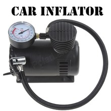 Hot sell car pump Car Tyre Air Compressor with 3 Pneumatic Nozzle 12V 90W 250 PSI car inflator