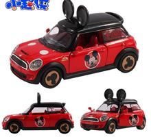 New Arrival baby toys mickey alloy cars model kids toy mickey musical and flashing toy car Children vehicle toy gifts for boy