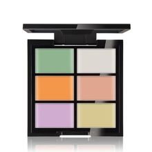 New Arrival 6 Colors/Set Women Make Up Face Cream Contour Kit Concealer Palette Bronzer Highlighter Beauty D1(China)