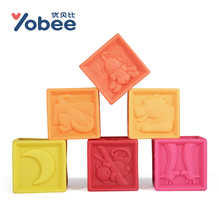 Colorful Cube Early Education Puzzle development Toy Multipurpose Blocks Baby Toys for 6-36 Months Kids(China)