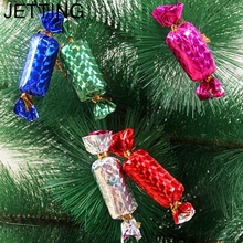 JETTING 12Pcs Christmas Candy Ornament For Christmas Tree Celebration Party Wedding Birthday Xmas Decoration Mixed Color