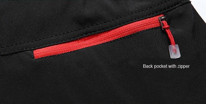back pocket with zipper