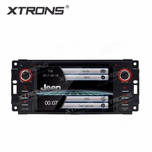 XTRONS 6.2 inch HD Head Unit GPS Navigation Radio Stereo Car DVD Player for JEEP Patriot Compass/DODGE Journey/Chrysler Sebring