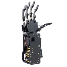 Industrial Robot Arm Bionic Robot Hands Large Torque Servo Fingers Self-movement Mechanical Hand with Control Panel(China)