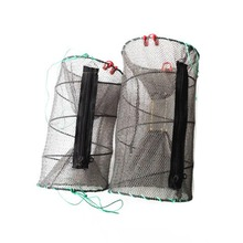 2017 Hot Fishing Net Crab Fish Crayfish Lobster Shrimp Prawn Live Trap Net Fishing Accessories 5 Sizes for choice