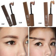 Mask Stylenanda My Brown Natural Eyebrow Dye Cream Makeup Brush Waterproof Durable Eyebrow Enhancer 3 Colors(China)
