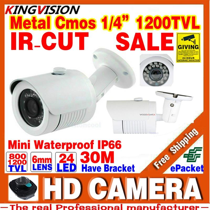Mini 1/3cmos 1200TVL Surveillance Analog Video Indoor Outdoor Waterproof IP66 hd CCTV Security Camera IRCut Night Vision Bracket<br><br>Aliexpress
