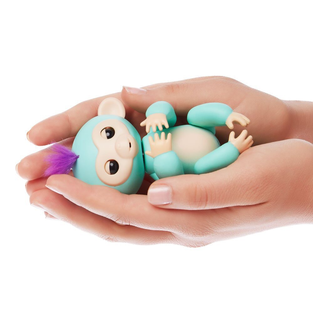 2017 New Fingerlings Interactive Baby Monkeys Toy Smart Colorful Fingers Llings Smart Induction Toys Christmas Gift Toy For Kids 14