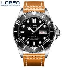 d4bc2793571 À Prova de Choque à prova d  água Esportes Dos Homens Relógios Relogio  masculino Mergulho 200 M Relógio Do Esporte mecânico Auto.