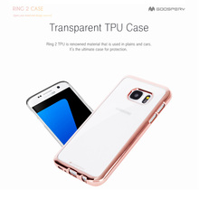 Latest Mercury Goospery Mobile Accessories for Samsung Galaxy A7 2017 Case, Soft Clear Ring 2 Mobile Phone Case for A7 2017