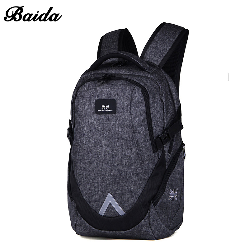 BAIDA Business Backpack Mochila Escolar Casual Laptop Backpacks High Quality Bags For Unisex Travel Bag<br>