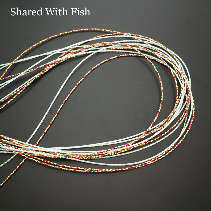 GOLD//SILVER MYLAR 4 SPOOL COMBO Fly tying ribs bodies