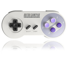 8Bitdo Pro Wireless Bluetooth Game Controller SNES30 Dual Classic Joystick Retro Design Gamepad For IOS Android PC Mac Linux