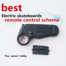 100% original New WINNING 2.4Ghz mini Built-in lithium battery remote controller with receiver for electric skateboard longboard