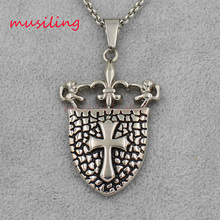 musiling Jewelry Skull Dragon Cross Sword etc 9 Styles Stainless Steel Tags Pendants Pendulum Fashion Charms Mens Jewelry 10pcs
