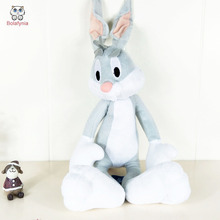 BOLAFYNIA Bugs Bunny plush toys Stuffed toy birthday gift children toy(China)