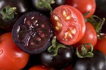 1 pack 100 Seeds / pack, Black Krim Tomato Russina Heirloom Seeds Fine Textured Flesh Large Tomato #A00251(China)