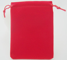 OneckOha Red Color!9*12cm Velvet Bag Cotton Pouch Jewelry Packaging Materials 50pcs/Lot