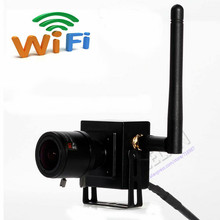 ONVIF 720P 2.8-12mm Manual Varifocal Zoom Lens HD Mini Wifi IP Wireless Camera P2P Plug And Play Support Android iPhone PC