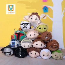 New style 2017 Tsum Tsum Plush toy doll Duck toys Cute doll Screen Cleaner Tsum tsum mini doll toy keychain for Christmas gifts