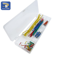 Hot Sell 140 pcs U Shape Solderless Breadboard Jumper Cable Wire Kit For Arduino For Raspberry Pi DIY(China)