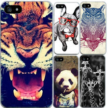 Animal Case For iPhone 4 4S 5 5S Se 6 6S 7 Phone Cases Cat Fish Fresh Style Soft TPU Mobile Phone Bag 1PC