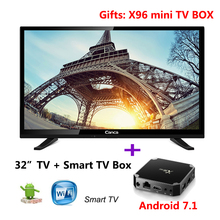 32 Ordinary TV and gifts Android7.0 system box 32 inch TV 16:9 kodi 17.0 Media Player WiFi USB English Russian Spanish 110V~240V(China)