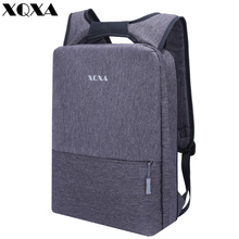 XQXA Light Slim Backpack Men Lightweight 13 14 15.6 Inch Laptop Notebook Backpacks Women Waterproof Thin Business Urban Backpack(China)