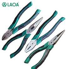 LAOA Japan Style LAOA6 Inch CR-V 30% Labor Saved Multifunction  Long Nose Pliers For Fishing