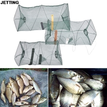 Big Sizes Fishing Net For Crab Fish Crawdad Shrimp Minnow Fishing Bait Trap Cast Dip Foldable Net Cage Fishing Access