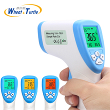Diagnostic-tool Digital Thermometer For Baby Adult Non Contact Infared Thermometer Body Temperature Measure 3-Color Backlight(China)