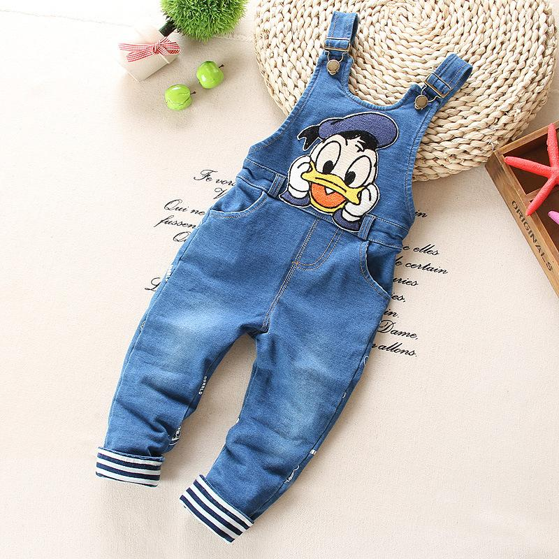Free shiping 2017  spring children baby  Bib preschool children jeans,baby boys rompers<br><br>Aliexpress