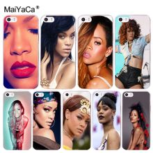 Buy MaiYaCa Sexy Super Star Rihanna Amazing new arrival phone case cover Apple iPhone 8 7 6 6S Plus X 5 5S SE 5C 4 4S Cellphones for $1.29 in AliExpress store