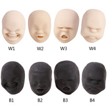 Human Face Emotion Vent Ball Toy Resin Relax Doll Stress Relieve Anti-stress Ball Toys Office Stress Relief Toys