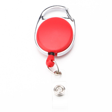 Portable Keychains Retractable Pull Keychain Lanyard ID Badge Holder Car Keys Card Belt Clip Key Ring Chain Buckle Key Chain(China)