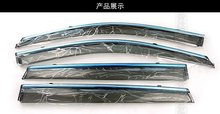 Side Window Sun Shield Visors Vent Rain Wind Deflector Guard Fit For Honda Civic 2012