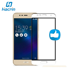 9H Anti-Scratch Mobile Phone Premium Screen Protector Film High Quality Full Cover Tempered Glass For ASUS Zenfone 3 MAX ZC520TL(China)